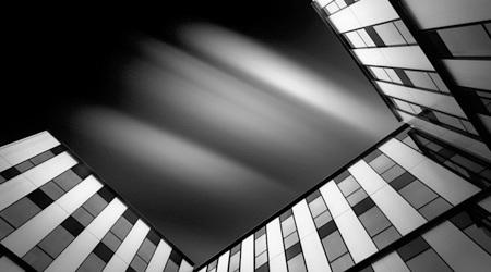 光と影の建築写真