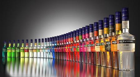 ボトルデザインの美しさで選ぶリキュール:De Kuyper