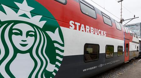 スターバックスのカフェ・トレイン