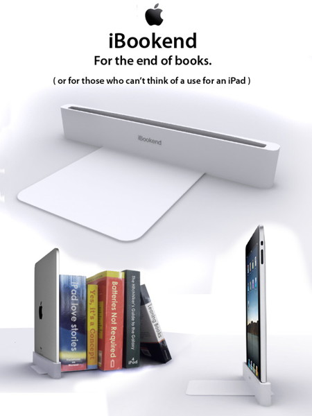 iPad Bookend