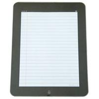 iPadがスケッチブックになりました: The iNotePad