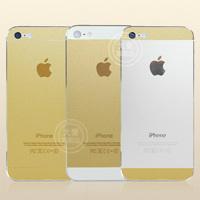 iPhone 5をゴールドにするステッカー