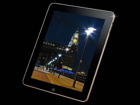 iPadゴールド(表)