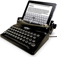 iPadがタイプライターに変身