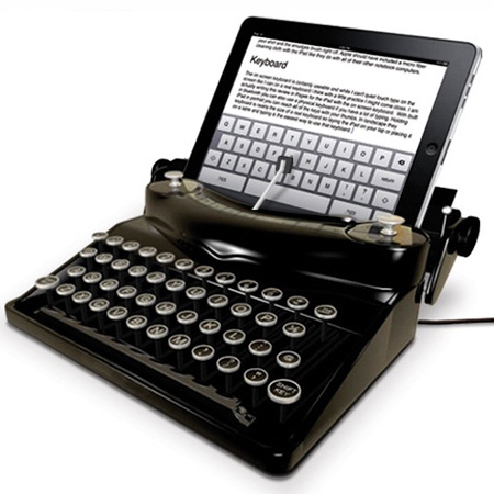 iPadをタイプライターに