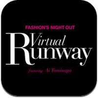 富永愛のファッションショーが楽しめるiPadアプリ