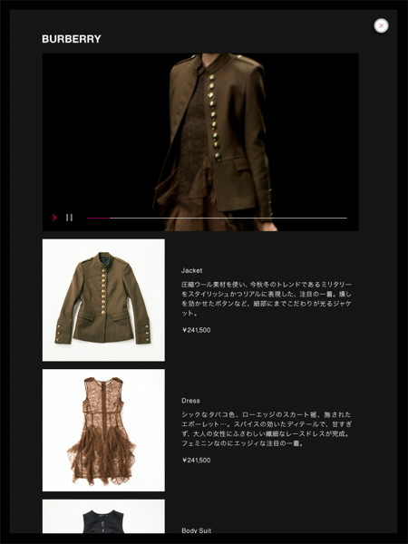 FASHION'S NIGHT OUTブランド詳細
